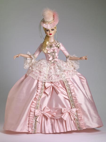 Бальное платье для куклы